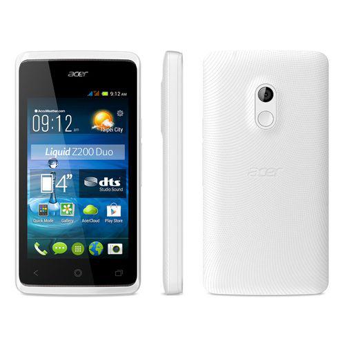 "Smartphone 4"" Acer Liquid Z200 Duo - Blanc"