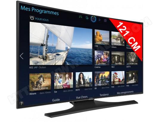 "TV LED 48"" Samsung UE48H6800 600 Hz Full HD 3D Incurvée (avec ODR 100€)"