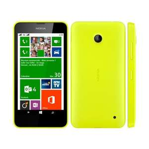 Smartphone Nokia Lumia 630 Jaune - Double SIM -  8Go