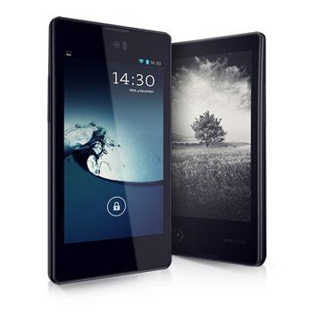 Smartphone Yotaphone noir