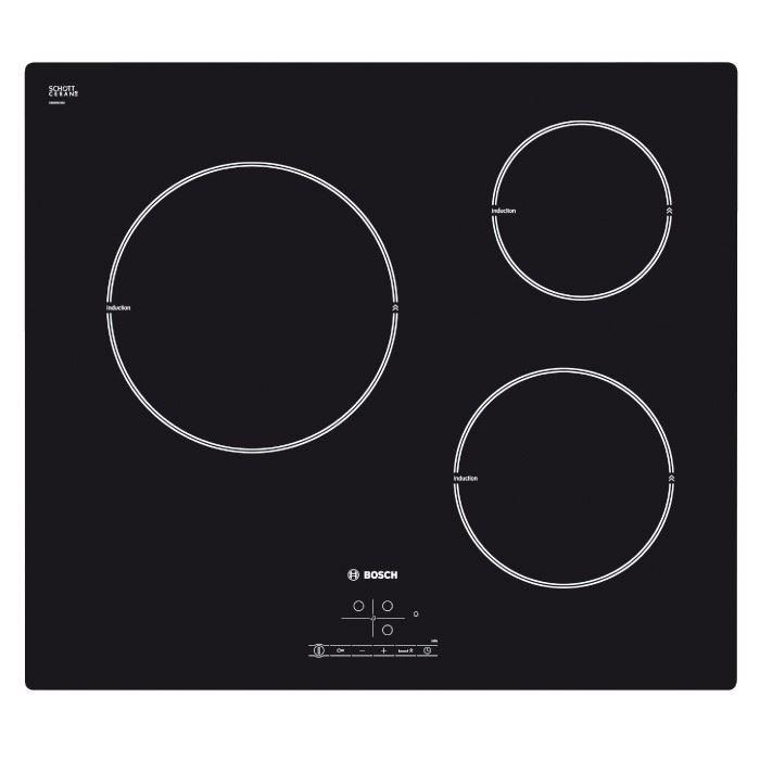 Plaque à induction Bosch PIM611B18E (3 foyers)