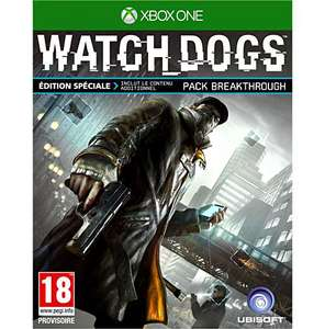 Watch Dogs Edition Spéciale Fnac Xbox One (Mission Breakthrough incluse)