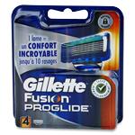 Gillette fusion proglide lames de rasoir pack de 4 recharges