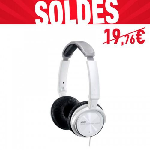 Casque filaire JVC HA-S360 - Blanc
