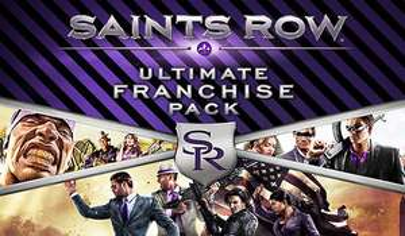 Saints Row Ultimate Franchise Pack sur PC (Dématérialisé)