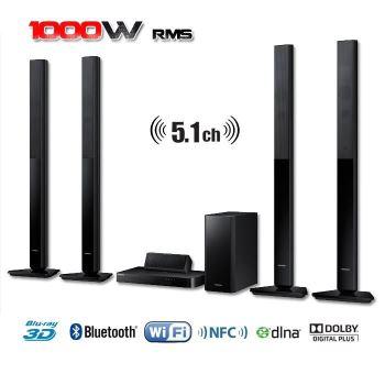 Home Cinéma Blu-ray 3D 5.1 Samsung HT-H5550 - 1000 W