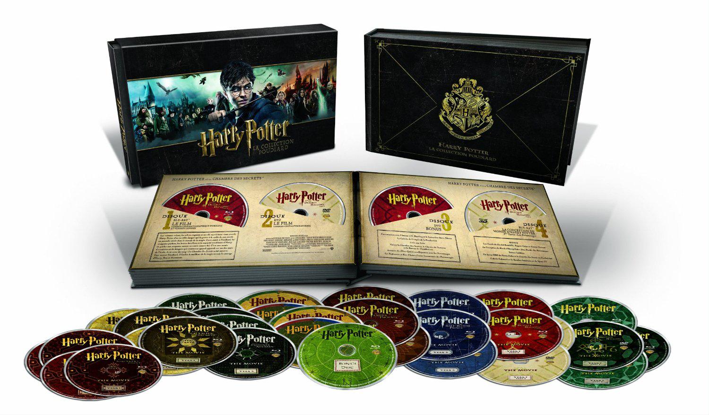 """Coffret Blu-ray (31 Disques) - Harry Potter La collection Poudlard - L'intégrale des 8 films en """"Édition Limitée"""""""