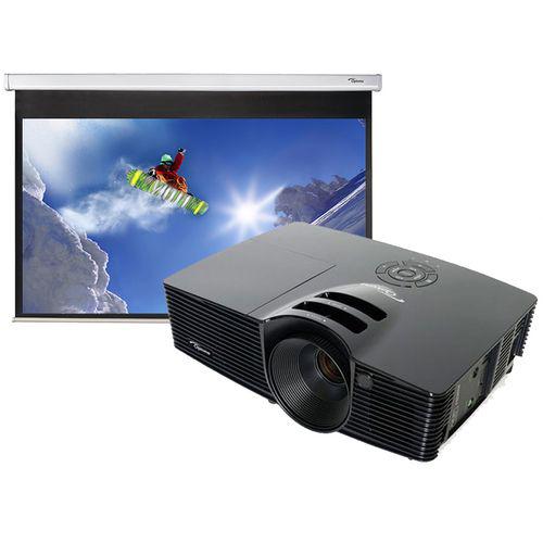 Videoprojecteur Optoma HD141X + Ecran 234cm manuel 16/9
