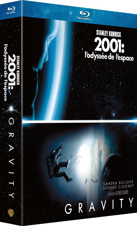 Bluray Gravity + 2001 Odyssée de l'espace
