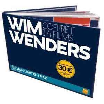 """Coffret DVD Edition Limitée Fnac de 14 Films """"Wim Wenders"""""""