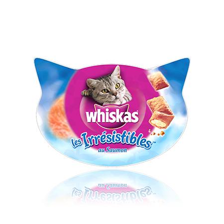 2 boîtes d'Irresistibles de Whiskas