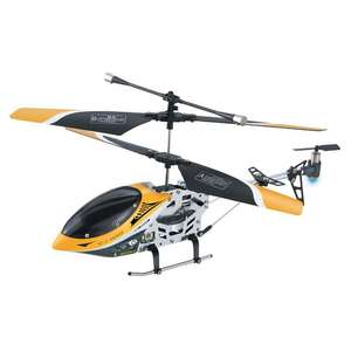 Hélicoptère infrarouge 3 voies Modelco - Jaune