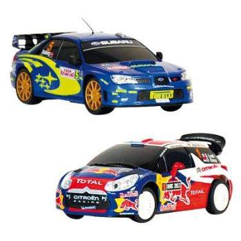 Coffret 2 voitures RC Modelco Rallye WRC - Echelle 1/28