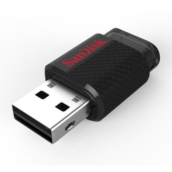 Clé USB 2.0 / micro-USB OTG SanDisk Ultra Dual 64Go