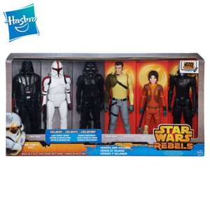 Ensemble de 6 figurines articulées 30cm Star Wars Rebels