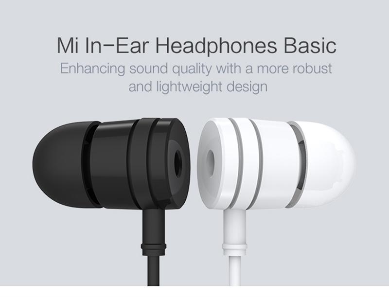Ecouteurs intra-auriculaires Xiaomi Piston New Version - Blanc ou Noir