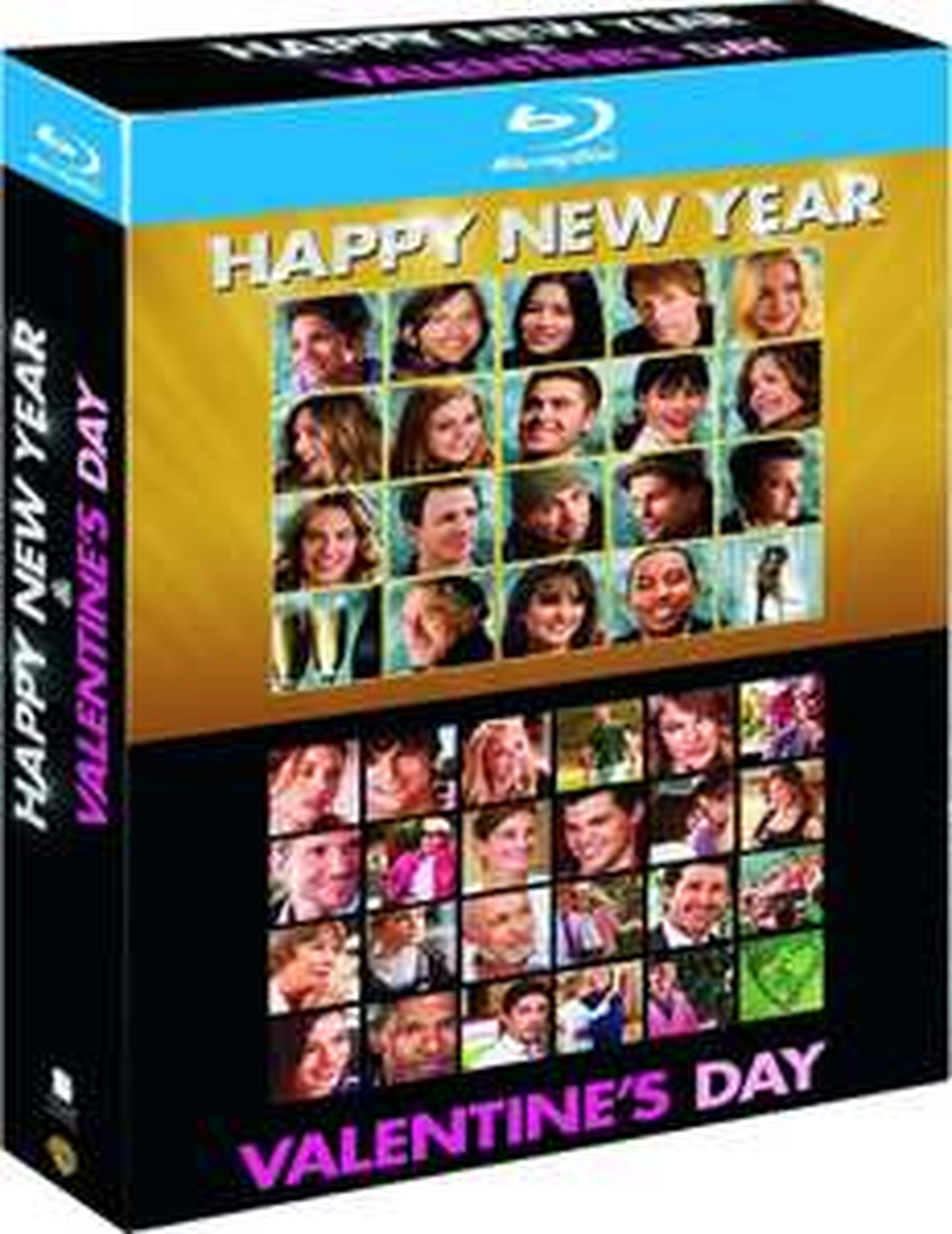 Coffret Blu-ray Happy New Year + Valentine's Day