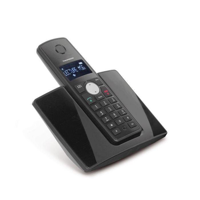Téléphone sans fil Thomson Beryl Solo - Noir