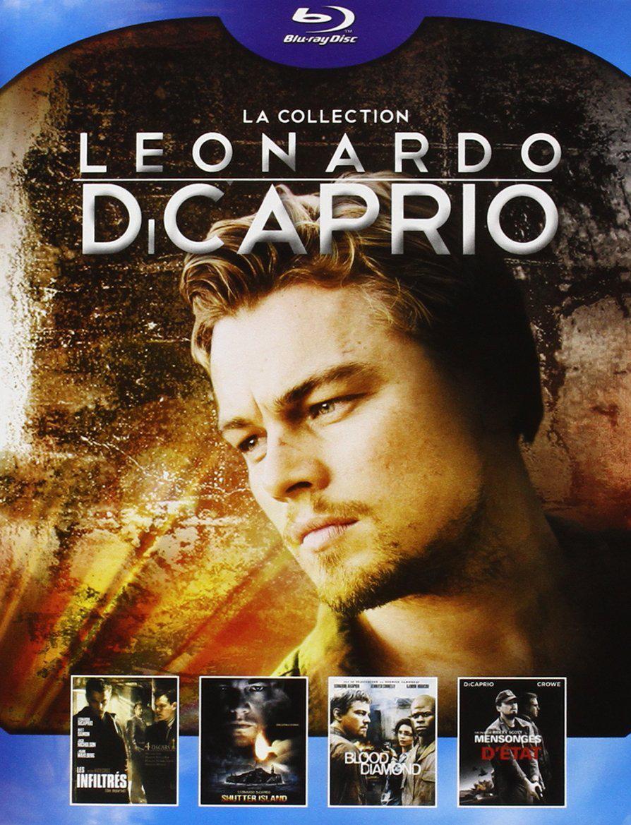 Coffret Blu-ray Collection Leonardo Di Caprio (4 films)