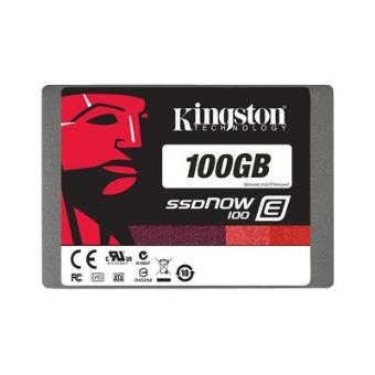 """SSD  pour serveur - Kingston 100Go - SSDNow E100 """"endurance élevée"""""""
