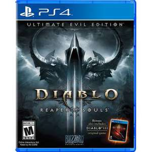 Jeu  Diablo III : Reaper of Souls Ultimate Evil Edition sur PS4