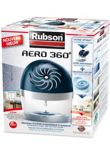 Absorbeur d'humidité Rubson Aéro 360 Gratuit (50% sur carte+ ODR 50%)