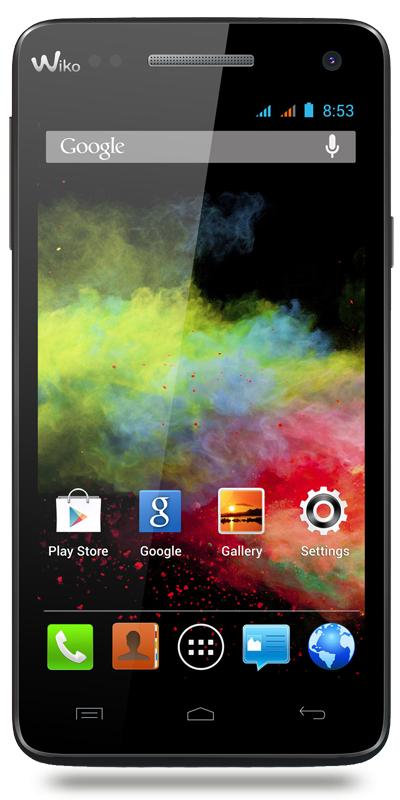 "Smartphone 5"" Wiko Rainbow 3G - Double Sim"