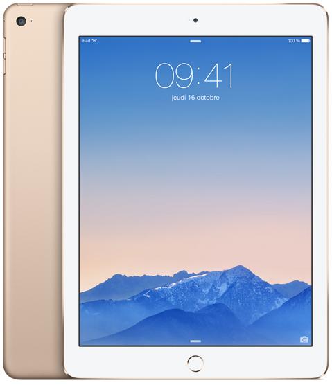 Tablette Apple iPad Air 2 16Go - Or - Reconditionné