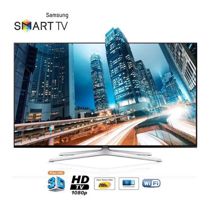 """Téléviseur 55"""" Samsung 55H6240 - Smart TV 3D"""