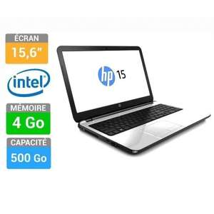 "PC Portable 15,6"" HP 15-R127NF - Intel Celeron N2840- 4 Go RAM-  500 Go - Windows 8.1"