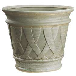 Pot Grosfillex Fiorella Ø51 cm coloris vert chasse