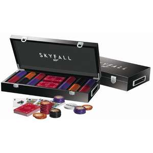 Coffret poker luxe Cartamuni James Bond Skyfall