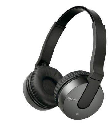 Casque sans fil Sony MDRZX550BNB - Bluetooth 3.0 / NFC