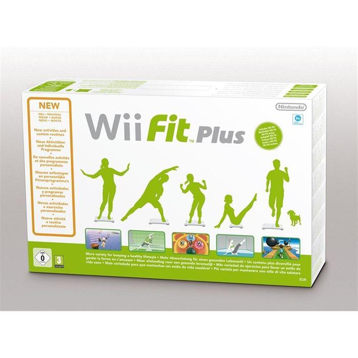 Jeu Wii Fit Plus (Wii Balance Board inclus)