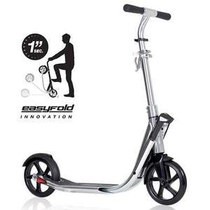 Trottinette (grandes roues)  Town 7 Easyfold chrome Oxelo