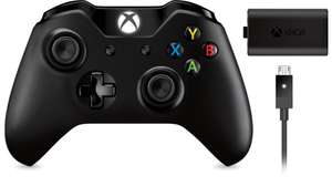 Manette sans fil Xbox One + kit Play & Charge (valeur 22€)
