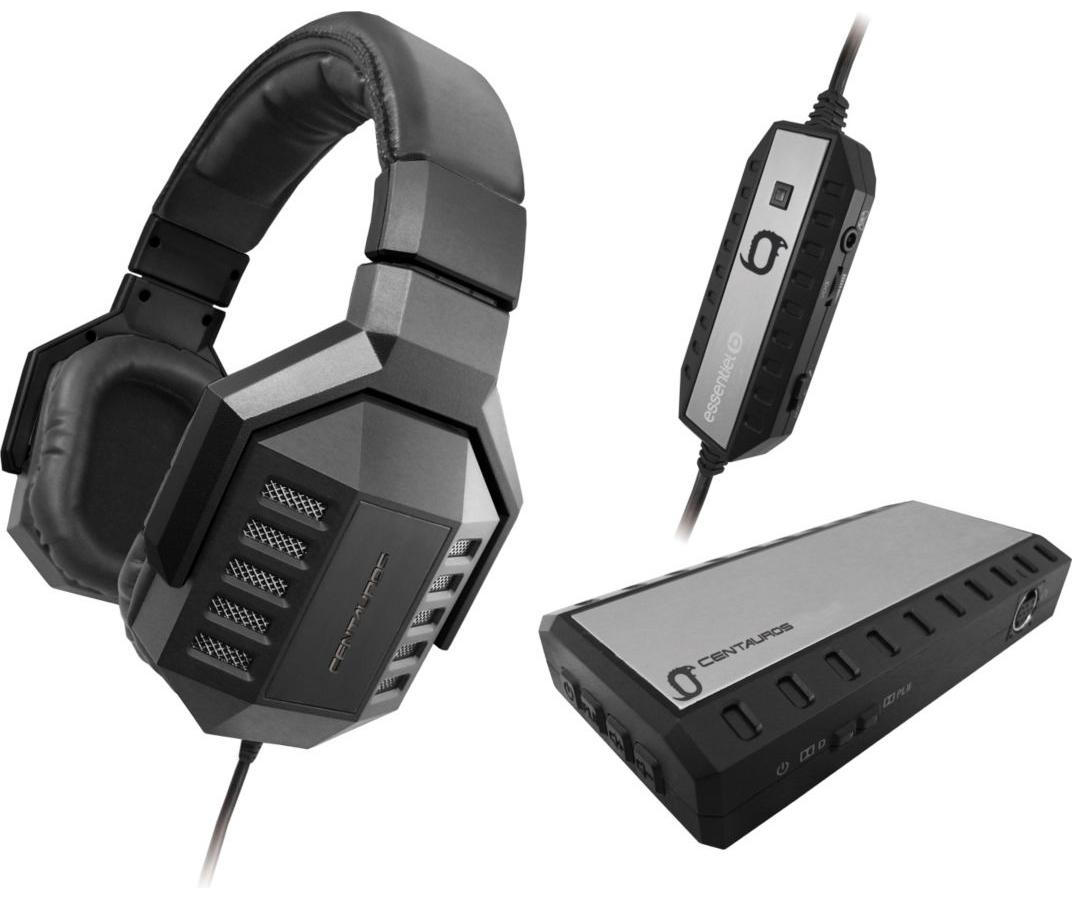 Casque Micro Gaming Centauros PS3/Xbox360/PC Essentiel B