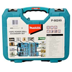 coffret de 100 assortiments travaux Makita P-90249