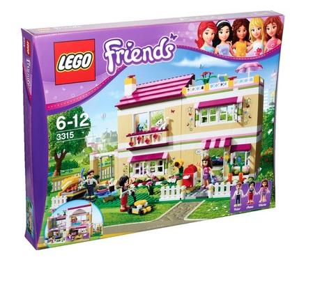 Jeu de construction Lego Friends -  3315 -  La maison de rêves