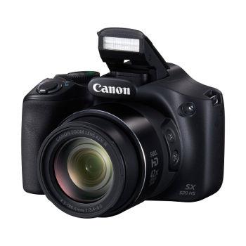 Appareil photo numérique bridge Canon PowerShot SX520 HS - Zoom 42x, 16Mp