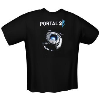 Sélection de goodies Sweat, T-shirt en promo - Ex : T-shirt Portal 2 Weathley