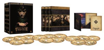 Coffret Blu-ray Le Seigneur des Anneaux - Version Longue 15 blu Ray