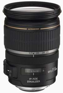 Objectif Canon Zoom EF-S 17-55 f/2,8 IS USM (avec ODR 60€)