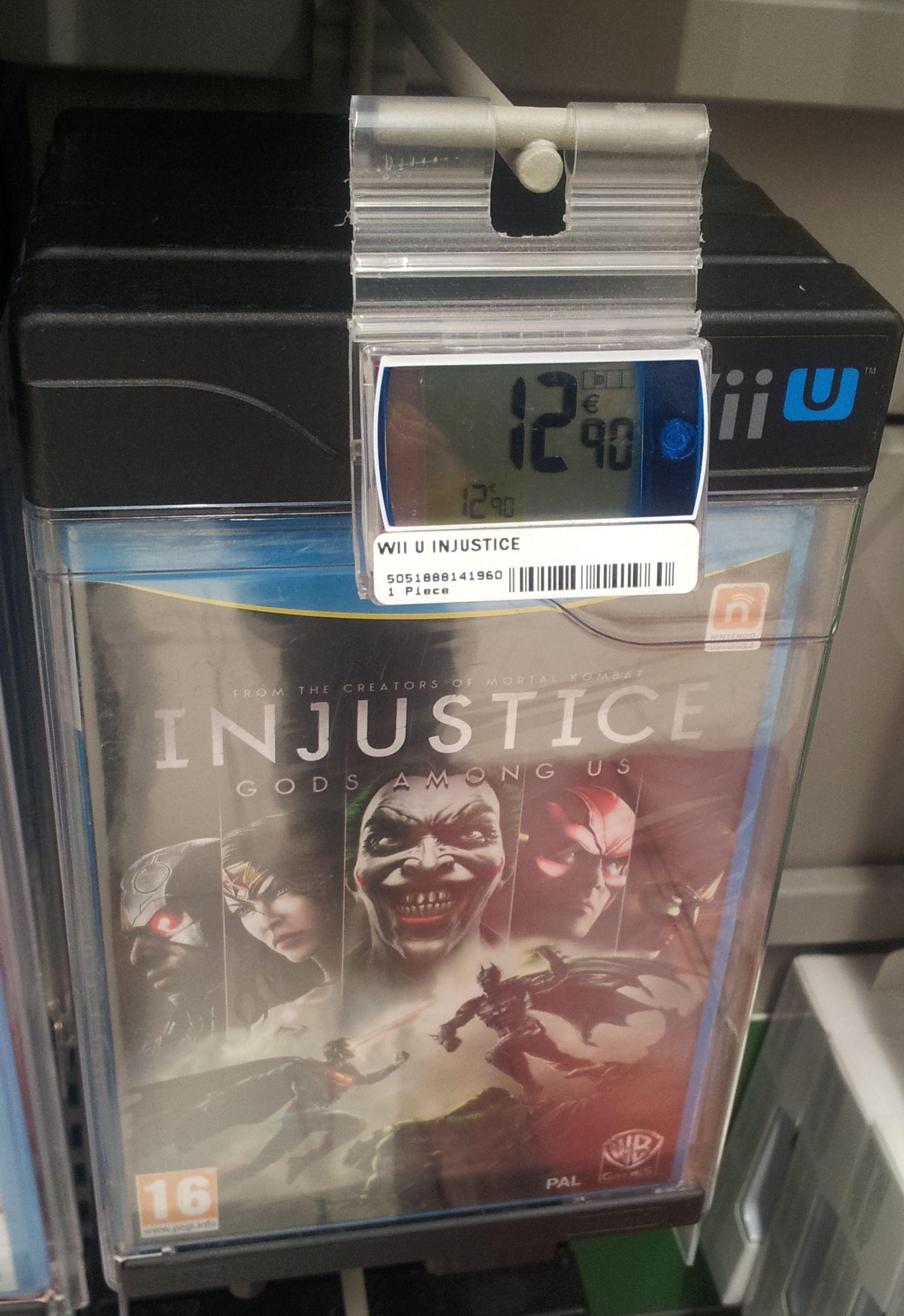 Injustice : Les Dieux sont parmi nous sur Wii U