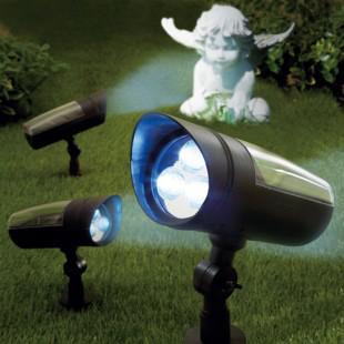 Spot solaire orientable pour Jardin (avec montre chrono et tournevis multifonctions offerts)