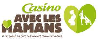 Casino avec les mamans : une journée à 30% en bons d'achat et 10% tous les jours sur l'univers bébé