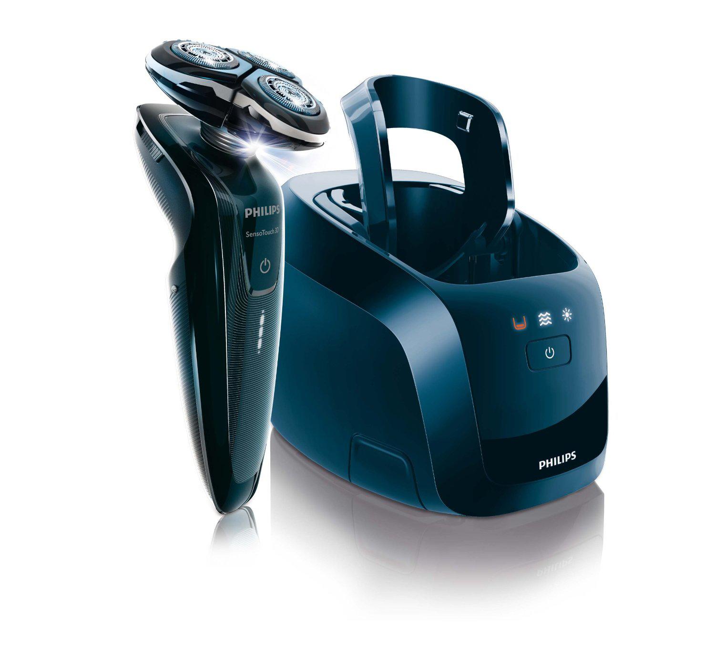 Rasoir électrique Philips SensoTouch 3D avec Tondeuse de précision et Jet Clean System