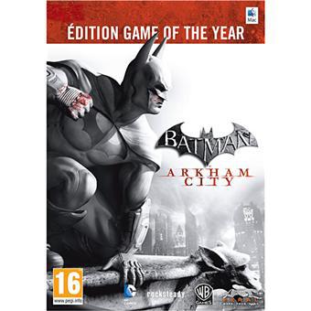 Batman Arkham City - Edition Game Of The Year sur MAC
