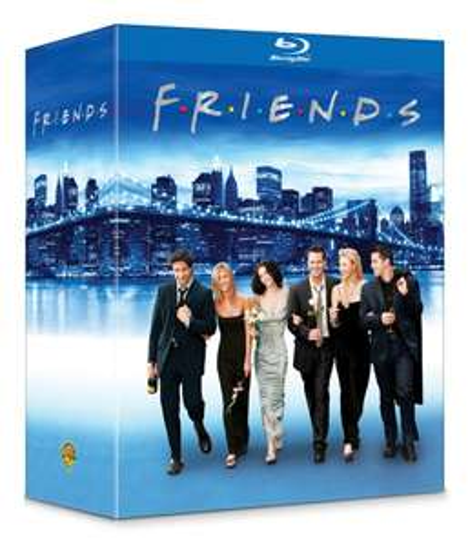 Coffret Blu-Ray Friends - L'intégrale saisons 1 à 10