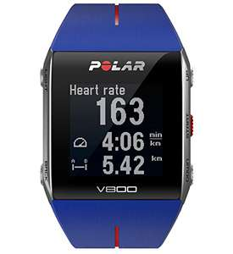 Montre GPS Polar V800 Bleue (sans ceinture cardio)